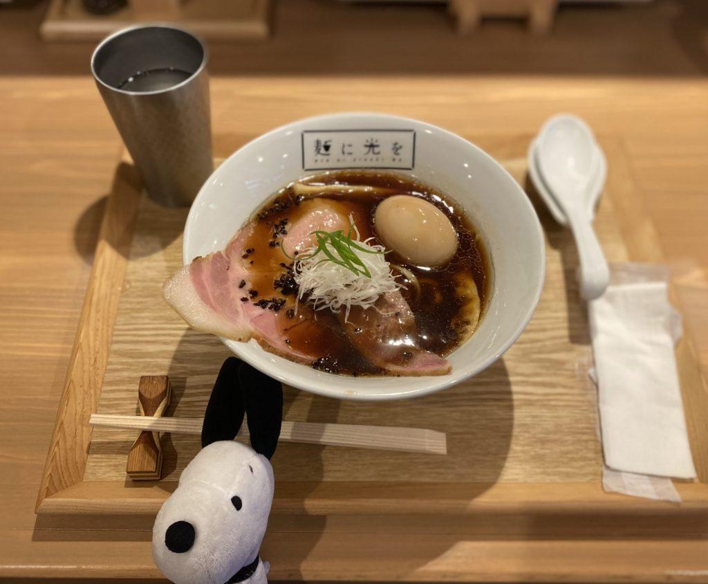 麺に光を R&B(鴨魚介醤油)